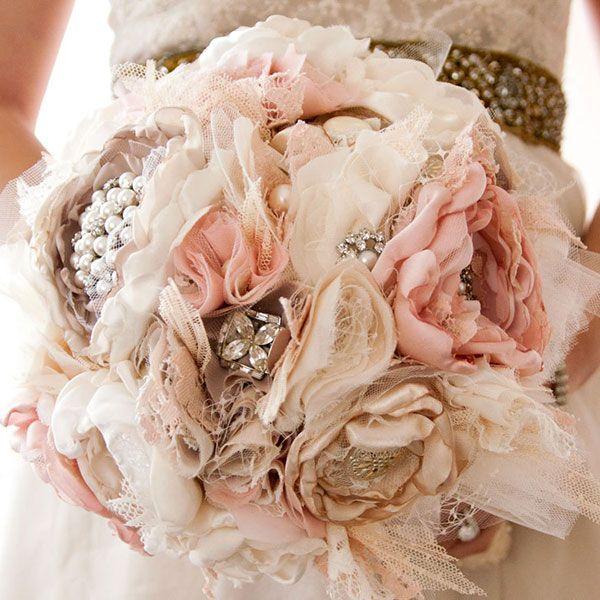 Winter Wedding Bouquets - Non Floral Bouquets | Wedding Planning, Ideas & Etiquette | Bridal Guide Magazine