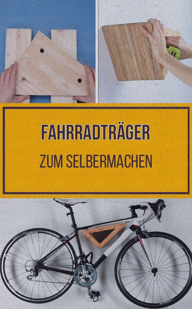 Die besten 25 fahrrad wandhalterung ideen auf pinterest - Fahrrad an die wand hangen ...