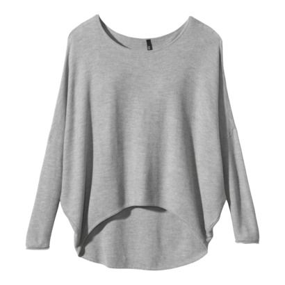 Target - Labworks Women's Dolman Sleeve  High- Low Pullover Sweater - Gray