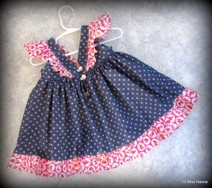 Frills and sparkly buttons