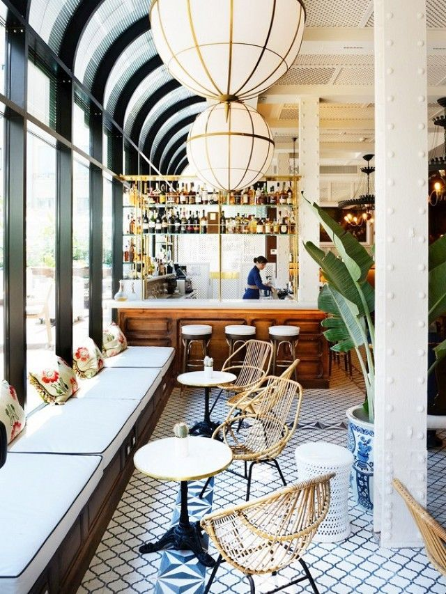 The Best Dining Room Inspo to Steal From Our Favorite Eateries. Interior  Design CareerCaf ...