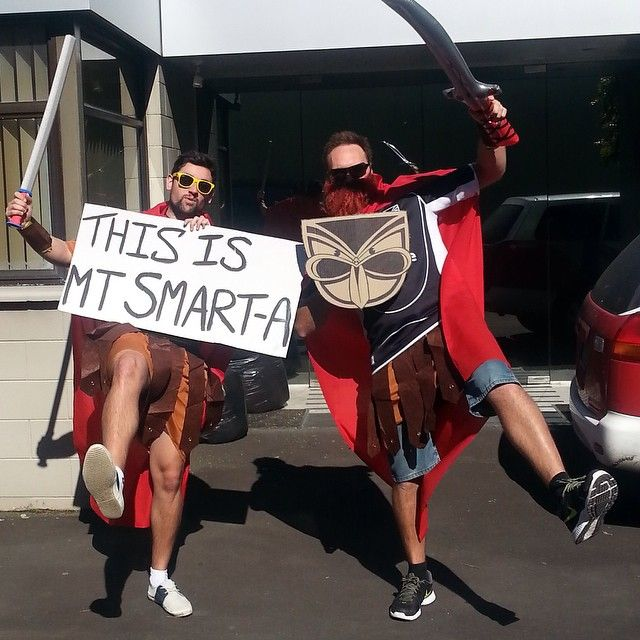 THIS IS MT SMART-A! #Fans #Sign #WarriorsForever #300 #ThisIsSparta #BeardUp
