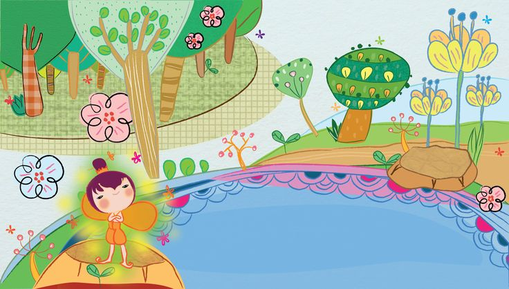 illustration kids books