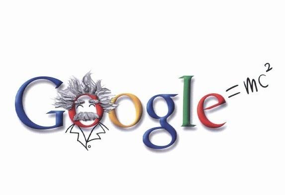 Google doodle for Einstein