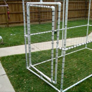 I'd love to make something like this for my birdies, but for indoors.  Suggestions?  How hard would it be to make feeder doors?