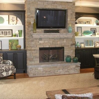 Spaces Built In Tv Cabinets Design Pictures Remodel Decor And Ideas
