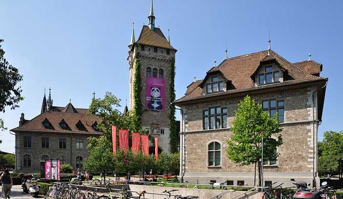 Swiss National Museum The Swiss National Museum (German: Landesmuseum Zürich) - part of the Musée Suisse Group, itself affiliated with the Federal Office of Culture - is one of the most... #Attraction #Museum  #Backpackers #Hostelman #Travel #Landmark