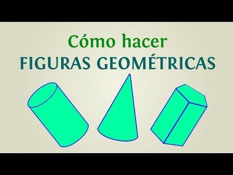 Figuras geométricas recortables planas :: Figuras geométricas tridimensionales para imprimir, recortar, colorear y armar