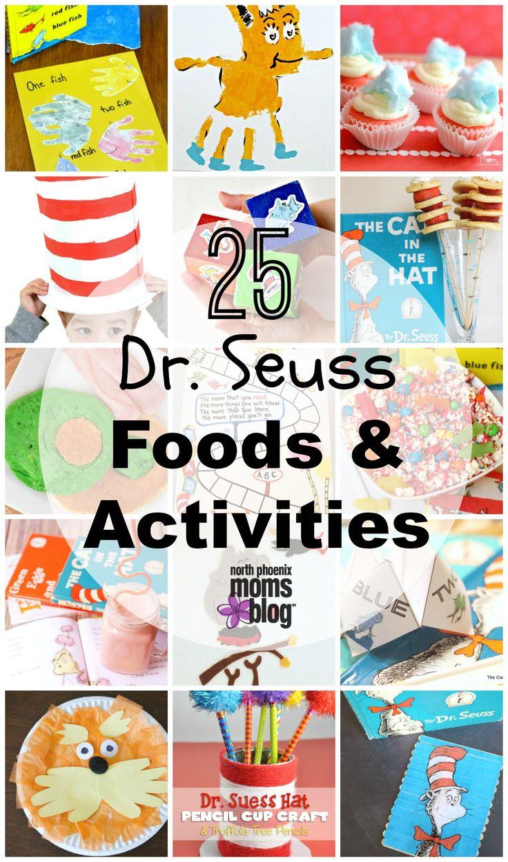 25 Dr. Seuss Foods & Activities- #ReadAcrossAmerica