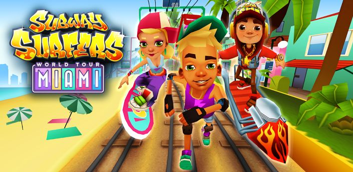 Sunlit the Breezy Beaches - Explore the Subway Surfers World Tour To Miami. [Update it on your Device]