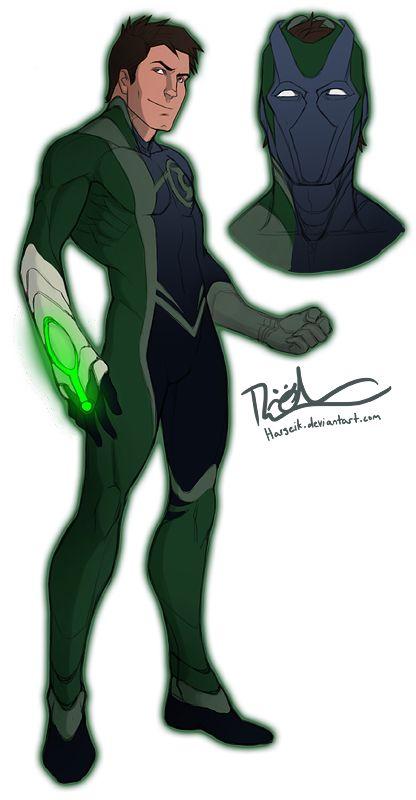 Green Lantern Redesign | I freakin' love this design