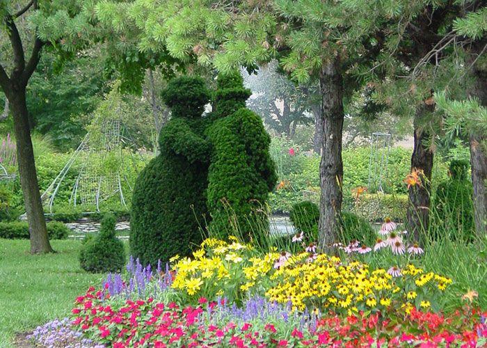 Topiary conversation