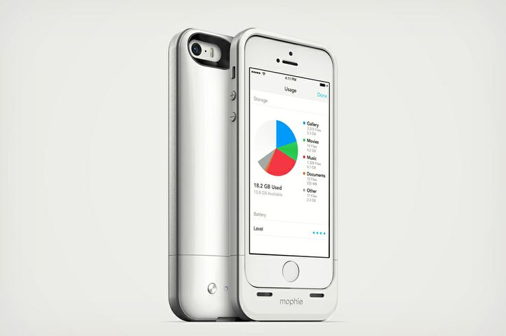 Why didn't i think of this. Mophie Space Pack Case plus Storage for iPhone 5 | Cool Material