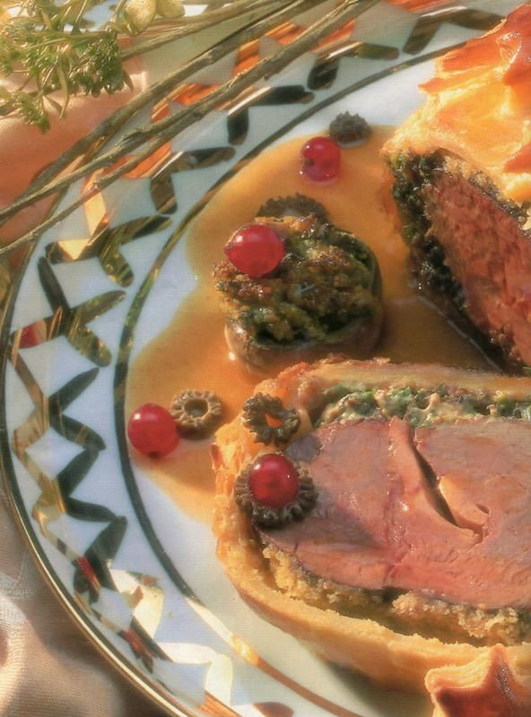 filet de bœuf en croute rossini