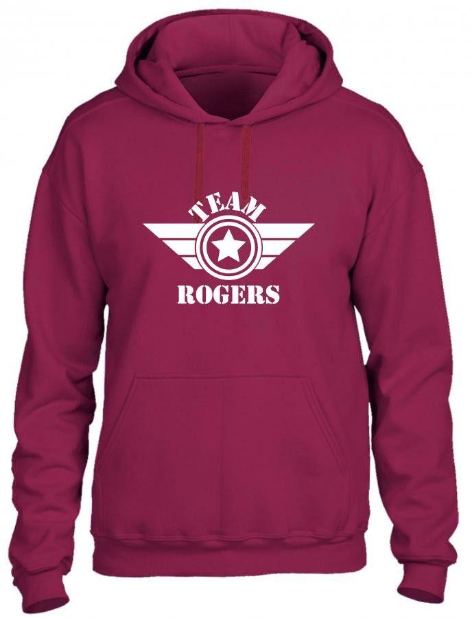 iron man team rogers Hoodie