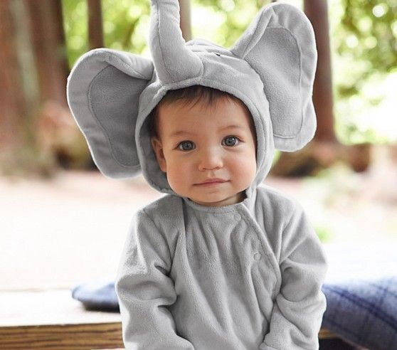 Baby Elephant Costume | Pottery Barn Kids  I think I need this.....