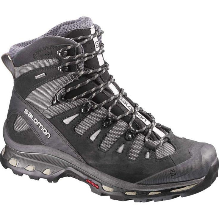 Salomon Men's Quest 4D 2 Mid Gore-TEX Hiking Boots, Size: 10.5, Black