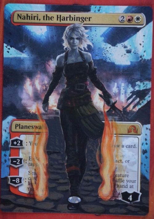 Full Art Nahiri Handpainted Extension  http://ebay.to/1tcm51r  mtg altered art handpainted custom EDH commander standard