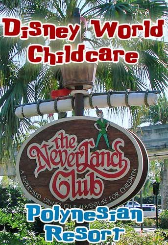 Want an adult night on your next Walt Disney World vacation? Neverland Club at Polynesian Resort is a children's activity center for ages 4-12. Drop the kids off and enjoy a night to yourselves.