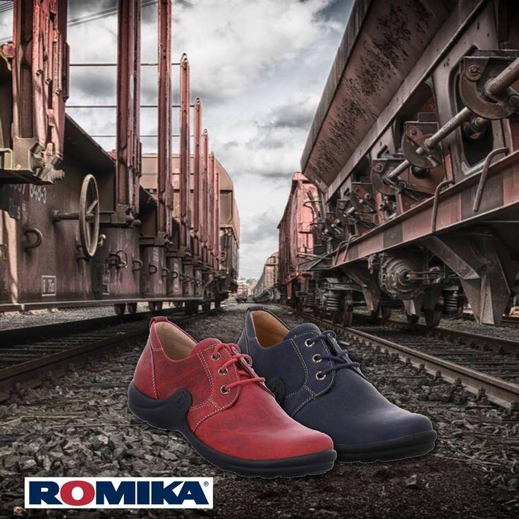 Romika Shoes #Fashion #Colour #Shoes