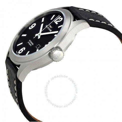 Glycine Incursore Automatic Black Dial Men's Watch GL0045 - Incursore - Glycine - Watches - Jomashop