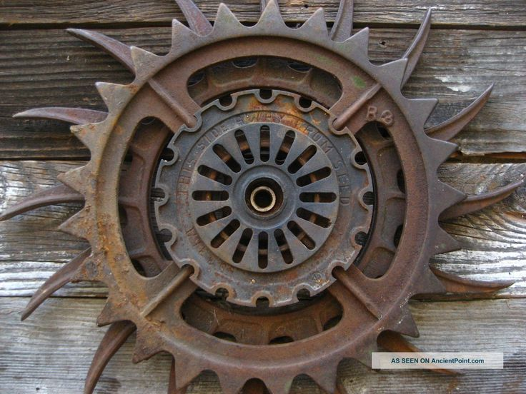 steampunk decor | ... Iron Wheel, Vtg Industrial Machine Age Steampunk Art Decor Metal Gear