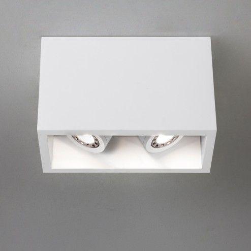 Osca 140 Twin Adjustable LED Taklampe