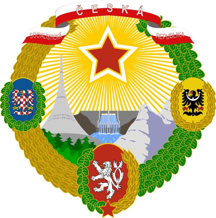 Czech Socialist Republic CoAs by SoaringAven.deviantart.com on @deviantART