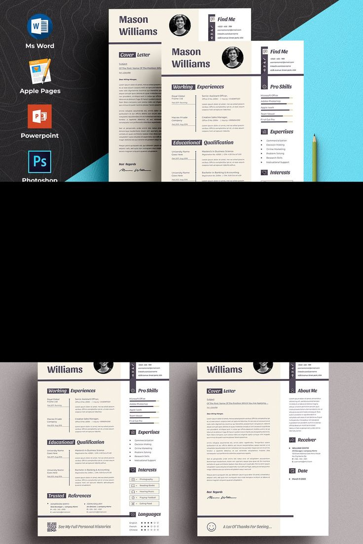 resume template features  file size
