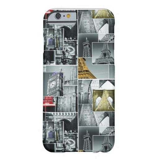 Landmarks Iphone 6 case