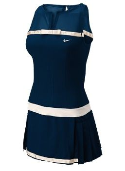 I played tennis this evening... a few more games I can reward myself with something cute - like this tennis dress!