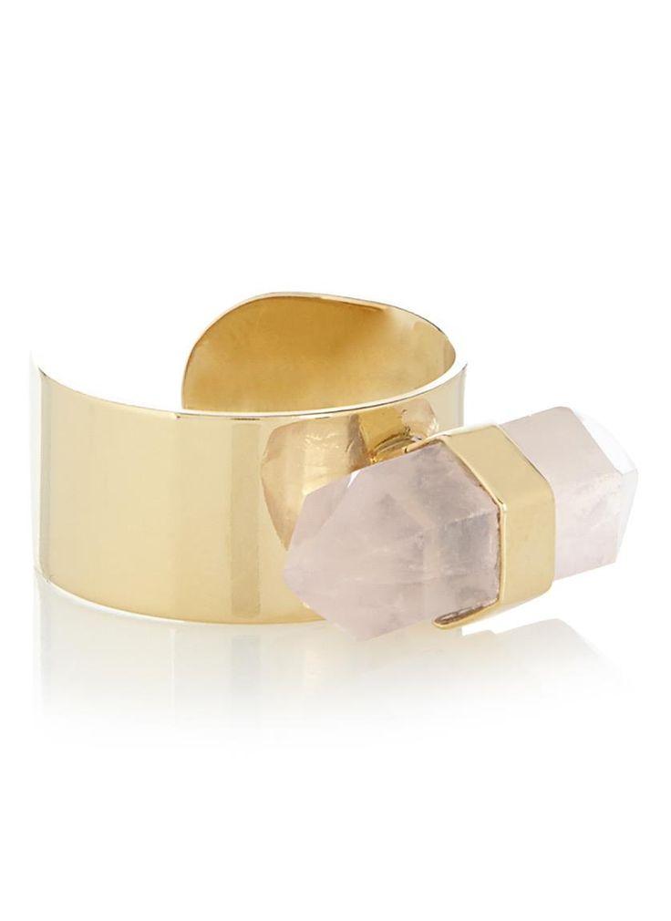 Isabel Marant Étoile Ring met rozenkwarts