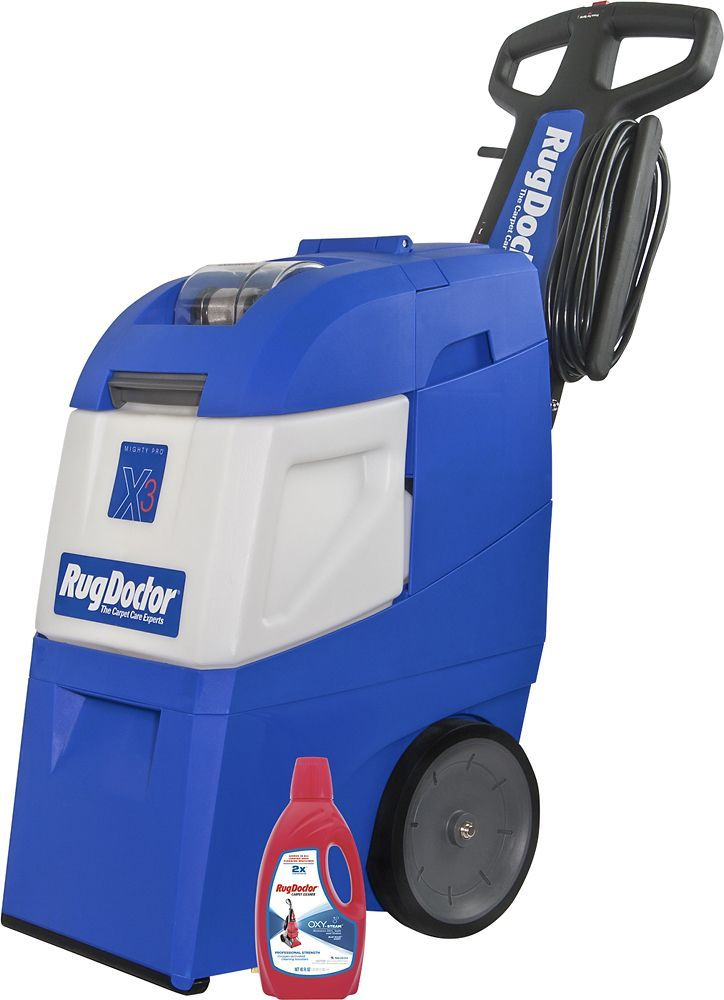 Rug Doctor - Mighty Pro X-3 Carpet Cleaner - Blue, 95503
