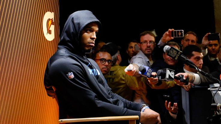 Here's The Real Reason Cam Newton Left The Post Super Bowl Press Conference