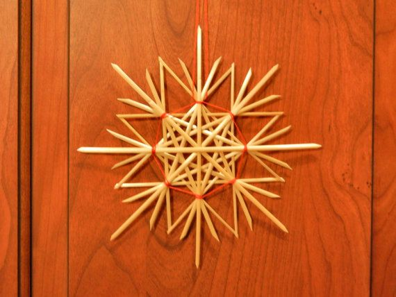 Traditional German Straw Star