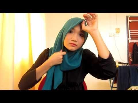 #9 style with tudung bawal - YouTube #SQUAREhijab