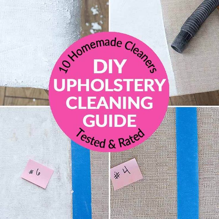 Diy Fabric Upholstery Cleaning: Battle For The Best Upholstery Cleaner: 10 Cleaners Tested