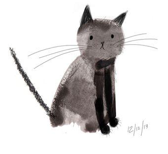 Cat by Laura Hughes - Illustration