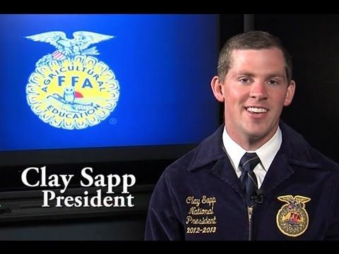 Clay Sapp talks National Teach Ag Day, what his officer team is doing to thank agriculture teachers and what you can do to help the leader of your FFA chapter.