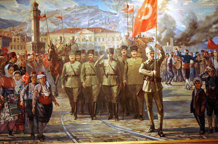 Kemal Attaturk and the Turkish army