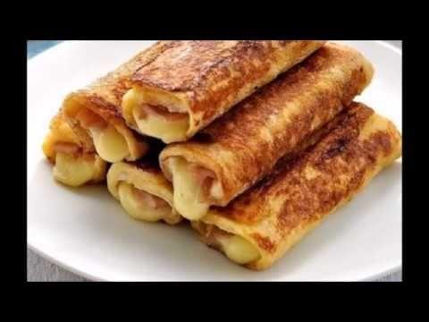 Αυγοφέτες ρολό με ζαμπόν και τυρί του τοστ !!!