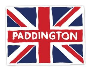 Paddington Bear Wall Graphics by WALLS 360: Paddington British Flag