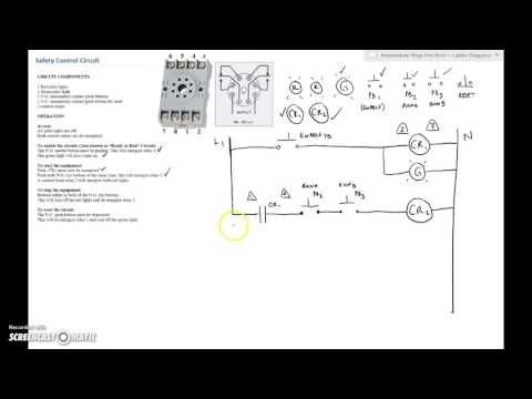 Ladder Diagram Basics 3 2 Wire 3 Wire Motor Control Circuit