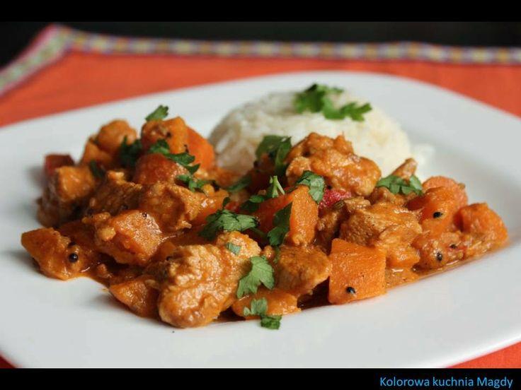 Kolorowa Kuchnia Magdy: Chicken Punch Puran - PUDLISZKI/kurczak