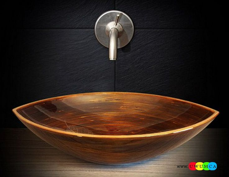 Bathroom:Sink Contemporary Modern Artisan Crafted Sinks Handcrafted Vessel Metal Sink Bathroom Interior Furniture Decor Design Ideas (2) Eco-Conscious, Artisan Crafted Sinks Sparkle With Contemporary Class