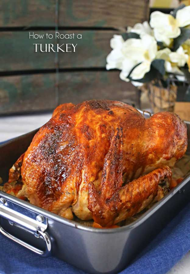 Easy, simple & delicious recipe for How to Roast a Turkey will have your guests swooning. It's not complicated & turns out perfect every single time. YUM! on kleinworthco.com