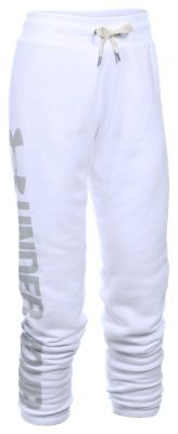 Under Armour Favorite Fleece Pants for Ladies - White - XS