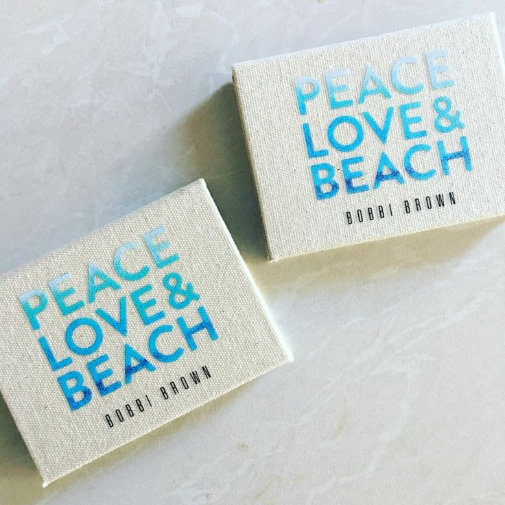 "67 Likes, 1 Comments - Beauty-Full Lifestyle (@beauty.full.lifestyle) on Instagram: ""These are the new eyeshadow trio palettes by @bobbibrown called Peace, Love, Beach and I love…"""