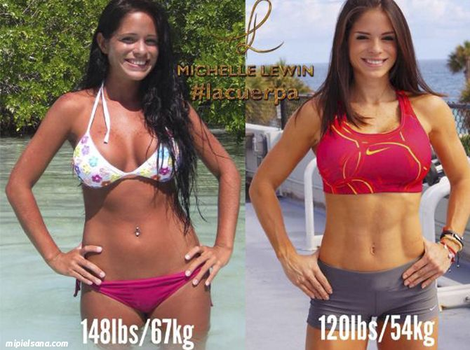 Michelle Lewin Before Fitness | www.pixshark.com - Images ...