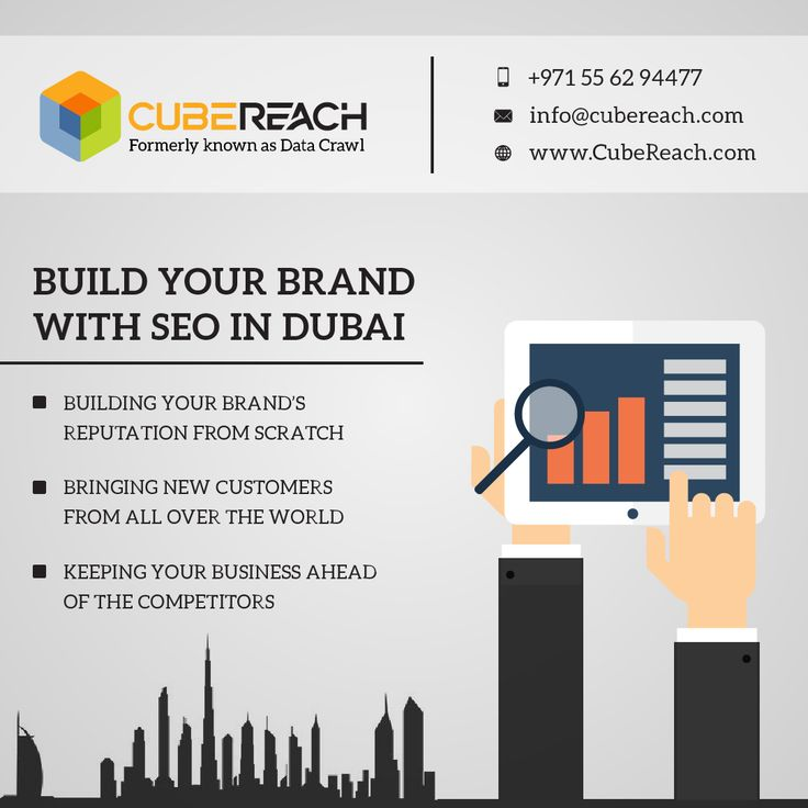 Build You brand with #seo in #dubaii